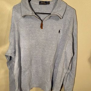 Sky Blue Polo Ralph Lauren Quarter Zip